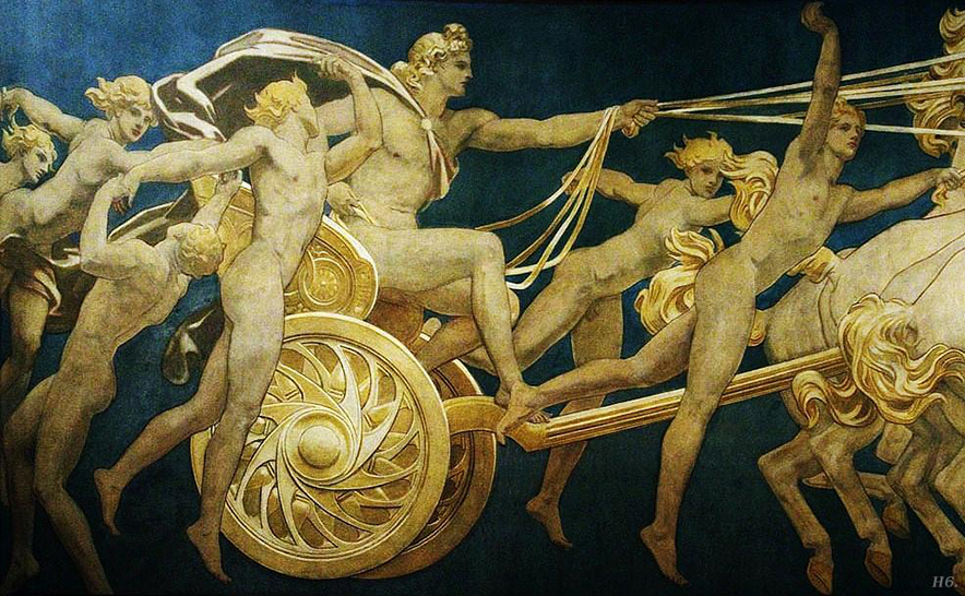 greek myths apollo with his chariot - photo #15